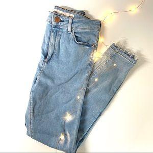 ASOS Ridley denim skinny jeans 26x30